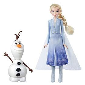 Disney Frozen - Poupées Elsa et Olaf interactifs