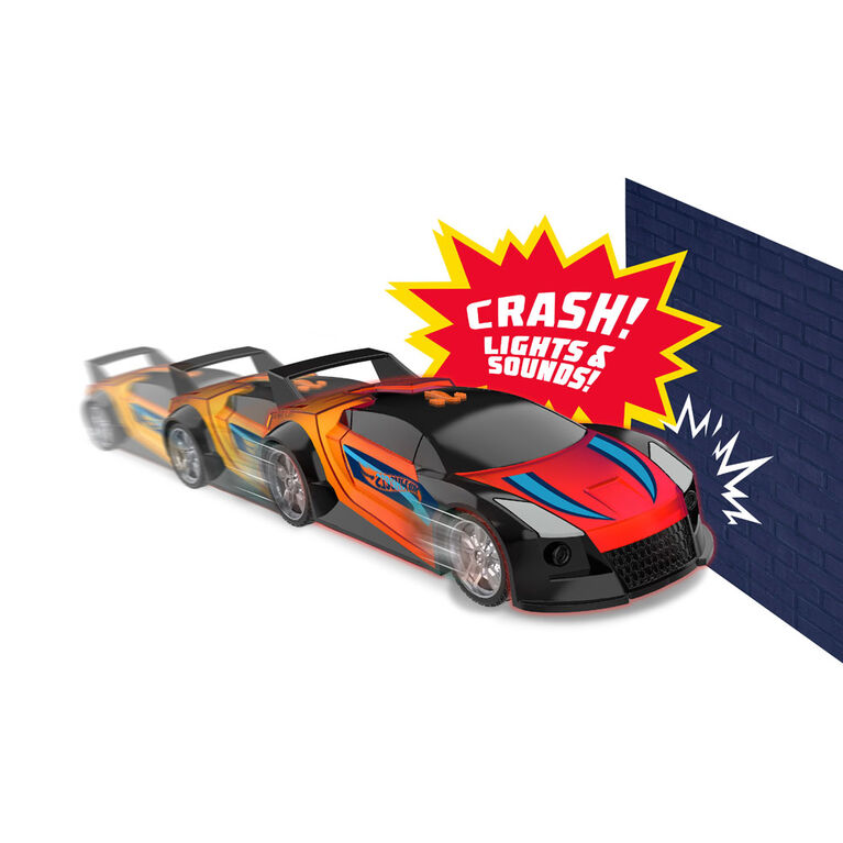 Hot Wheels Color Crashers - Quick n Sik - R Exclusive