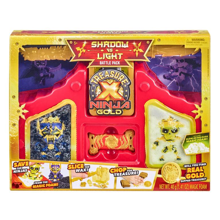 Ensemble de combat Chasseurs Ninja Treasure X