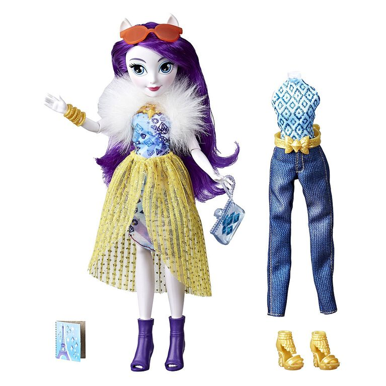 My Little Pony Equestria Girls So Many Styles Rarity - R Exclusive