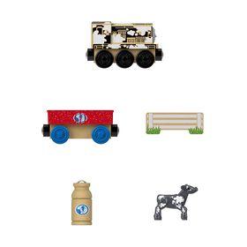 Fisher-Price Thomas & Friends Wood Diesel's Dairy Drop-off