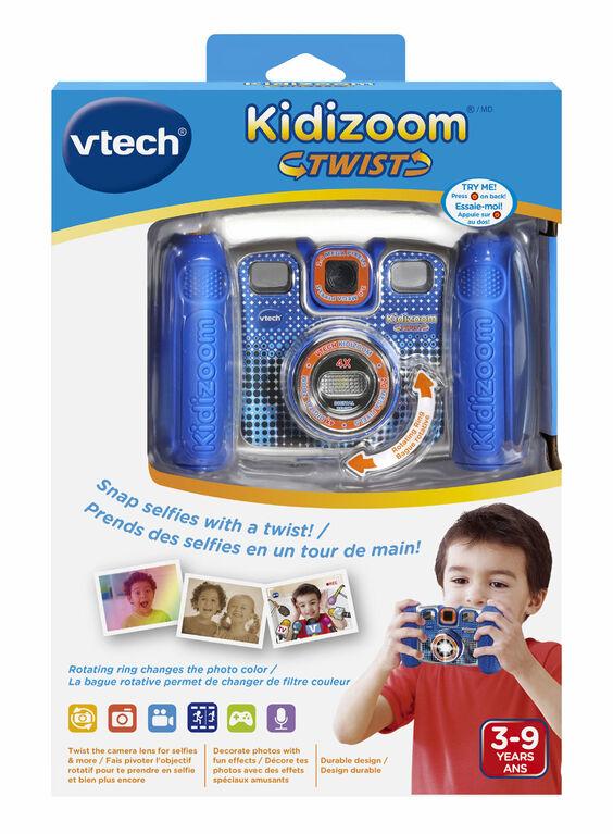 VTech Kidizoom Twist - Bleu - Bilingue