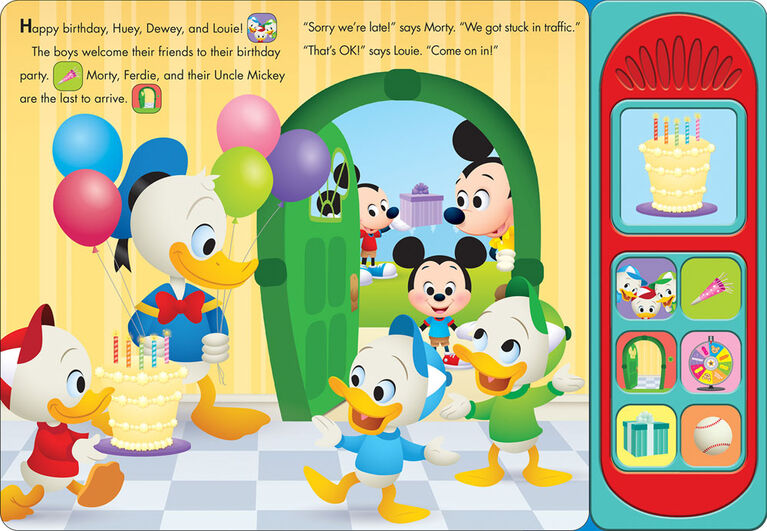 Little Sound Book Growing Up Stories Happy Birthday Party! - English Edition