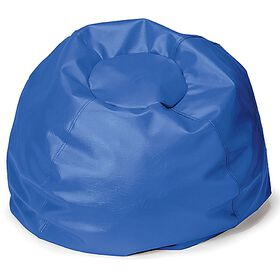 Comfy Kids - Comfy Bag Beanbag in Blue Vinyl