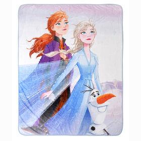 Couverture Polaire de La reine des neiges Disney, 60 x 80 pouces
