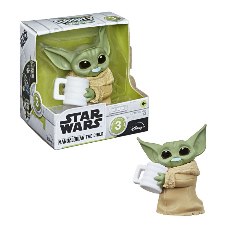 Star Wars The Bounty Collection Series 3 The Child Blue Milk Mustache Pose