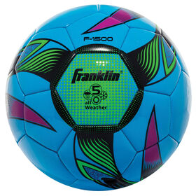 Franklin Sports Size 5 Neon Brite® Soccer Ball