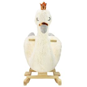 Animal Adventure Soft Swan Rocker