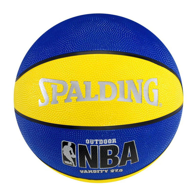 Spalding NBA Varsity Basketball Size 5 - Blue/Yellow