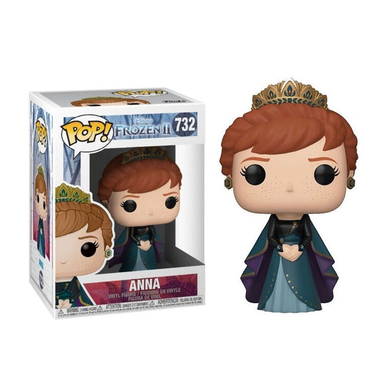 Figurine en Vinyle Anna par Funko POP! Frozen