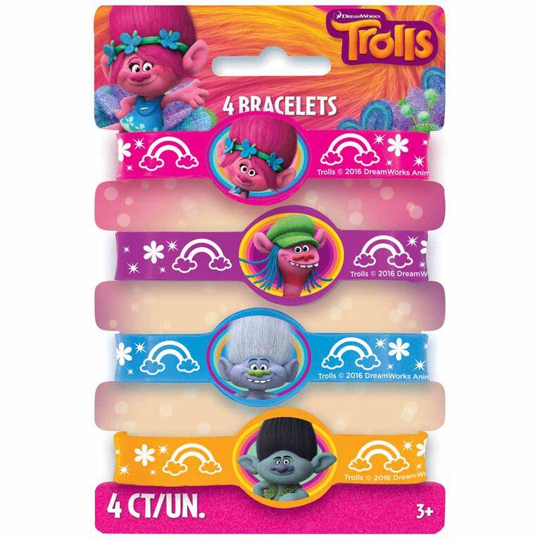 Trolls Bracelets, 4un