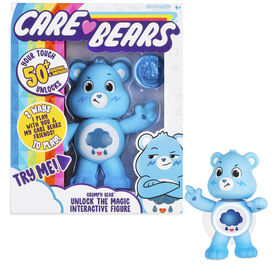 Care Bears Unlock the Magic Interactive Figures - Grumpy Bear- English Edition