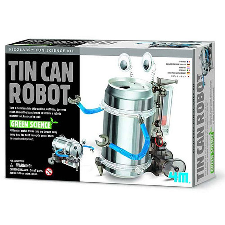 4M Tin Can Robot - English Edition