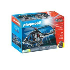 Playmobil - Tactical Unit Copter (5675)