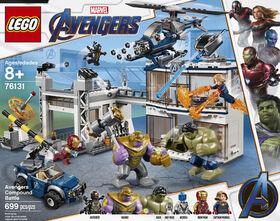 LEGO Super Heroes Marvel Avengers Compound Battle 76131