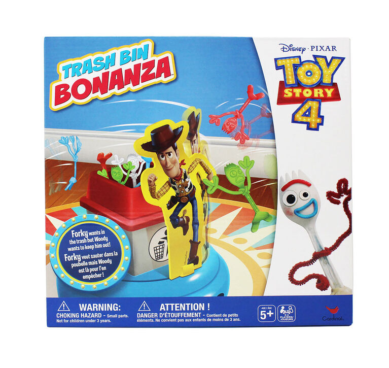 Disney Pixar Toy Story 4 Trash Bin Bonanza Game