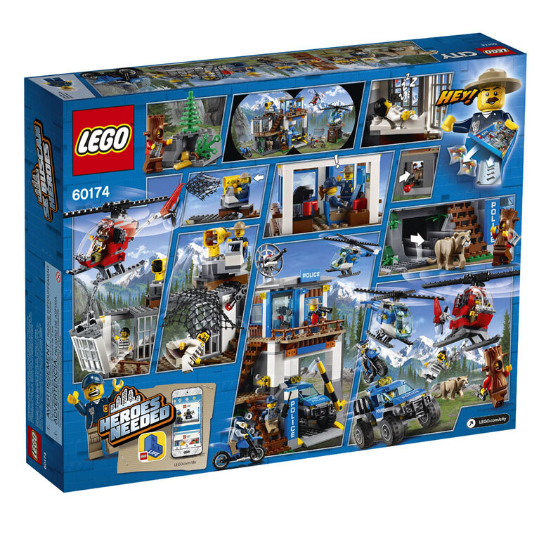 LEGO City Police Mountain Police Headquarters 60174