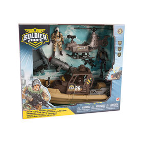 Soldier Force Coastline Patrol Playset - R Exclusive