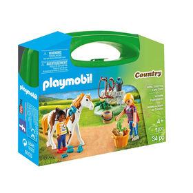 Playmobil - Valisette Palefrenières (9100)