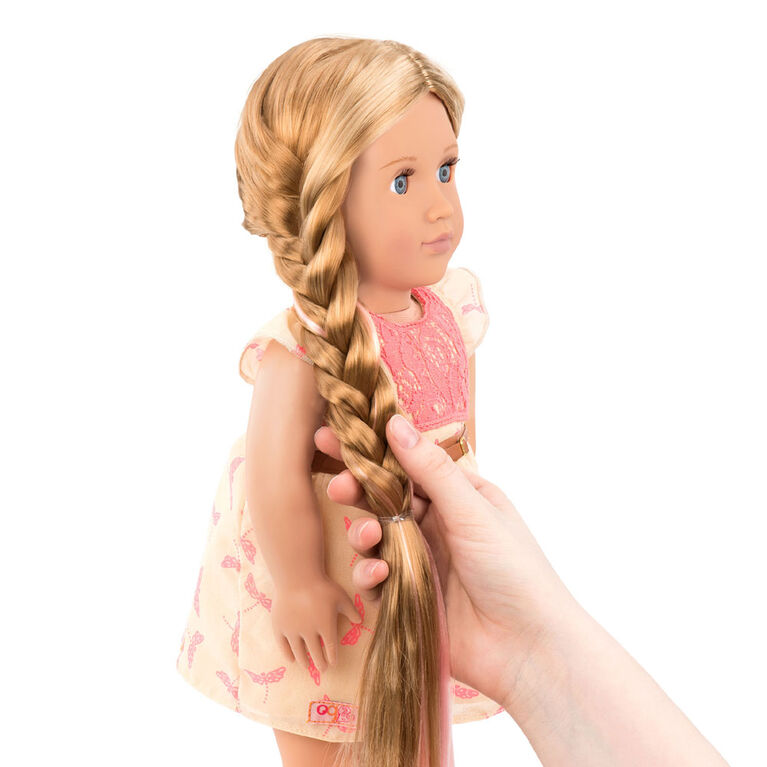 """Our Generation, Portia, """"From Hair To There"""", 18-inch Hair Play Doll"""