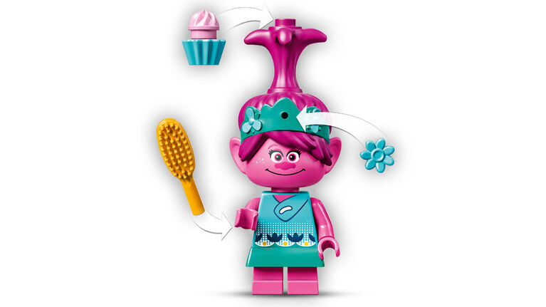 LEGO Trolls La capsule de Poppy 41251