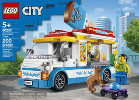 LEGO City Great Vehicles Le camion du marchand de glace 60253
