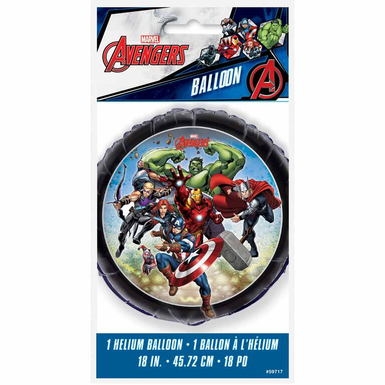 "Ballon aluminium rond, 18 "" - Avengers"