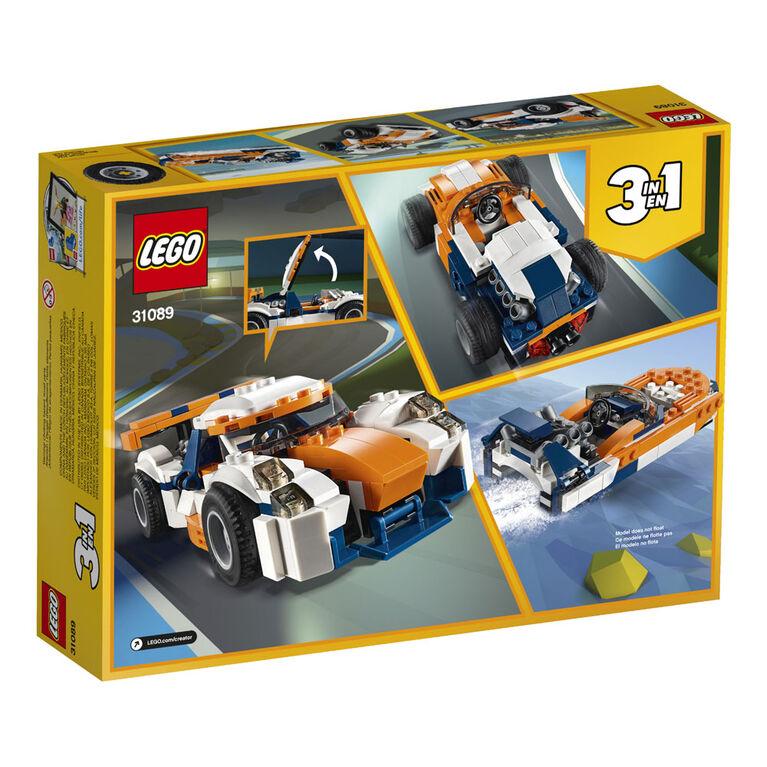 LEGO Creator Sunset Track Racer 31089