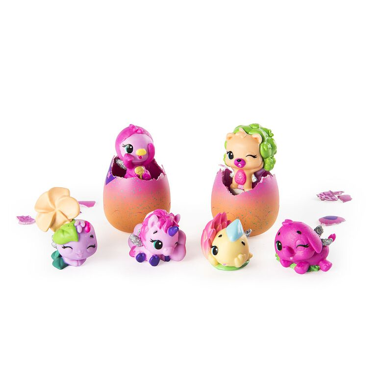 Hatchimals CollEGGtibles - Hatch and Seek 6-Pack Egg Carton with Hatchimals CollEGGtibles - R Exclusive