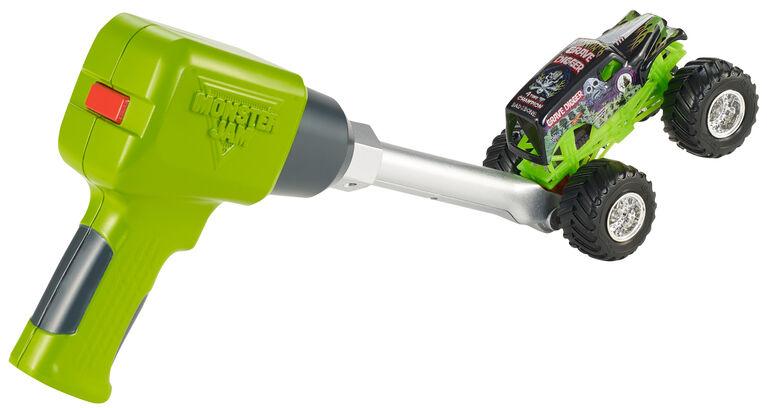 Hot Wheels Monster Jam Rev N' Stunt Wrench Accessory