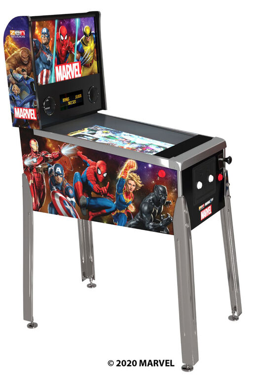 Flipper Arcade1UP Marvel