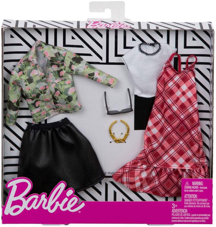 Barbie Fashions Plaid Camo 2-Pack