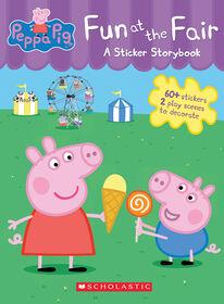 Peppa Pig Fun at the Fair: A Panorama Sticker Storybook