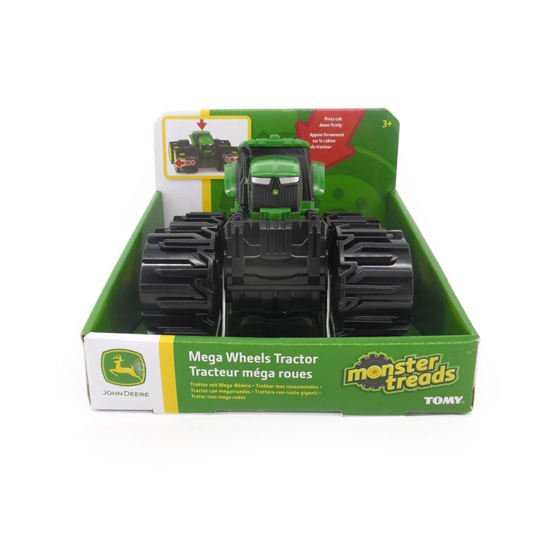 John Deere Mini Mega Wheels Tractor