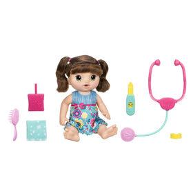 Baby Alive - Bébé petits chagrins (brunette).