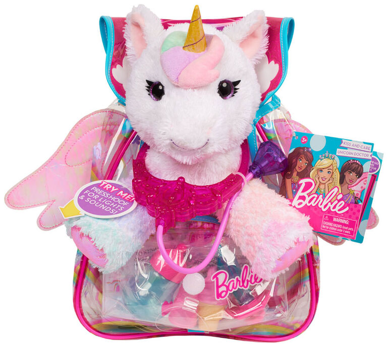 Barbie Kiss and Care Unicorn Doctor