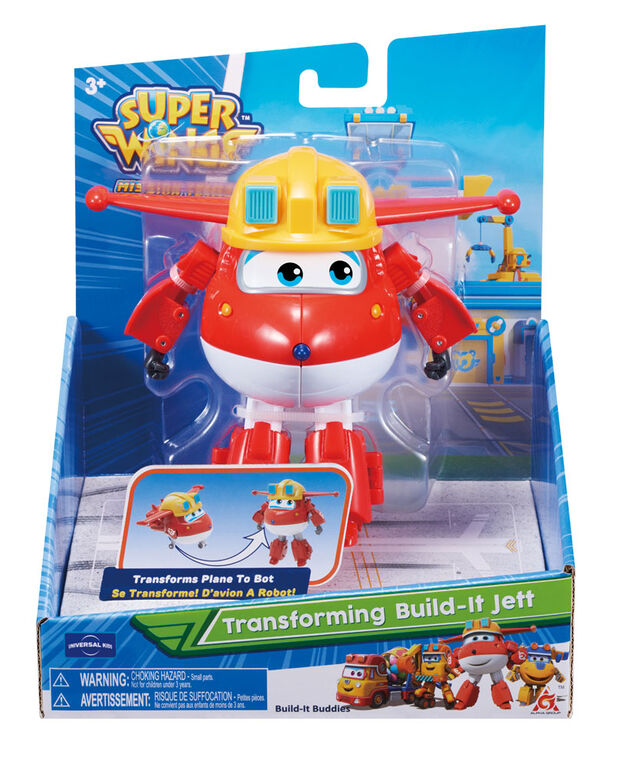 Super Wings - Transforming Build-It Jett - English Edition