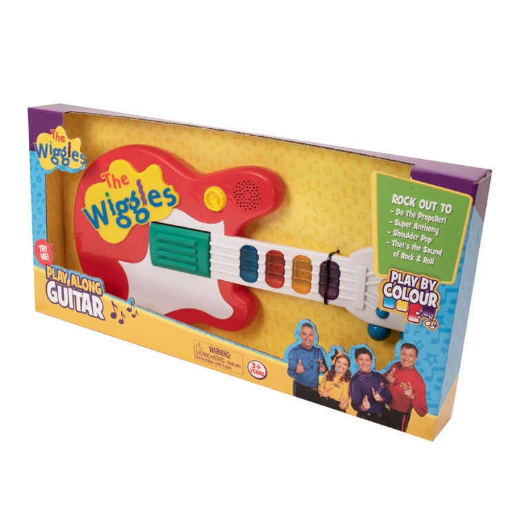 Wiggles Play by Colour Guitar