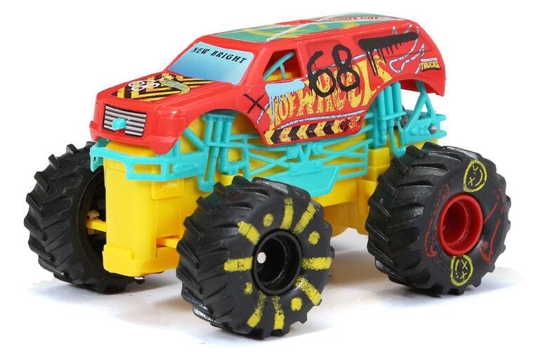 1:43 R/C Monster Truck Back Flip Set - Demolition Derby