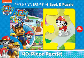 Little My First Look and Find Puzzle - Paw Patrol - English Edition