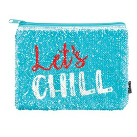 Sequins Let''''s Chill Pouch