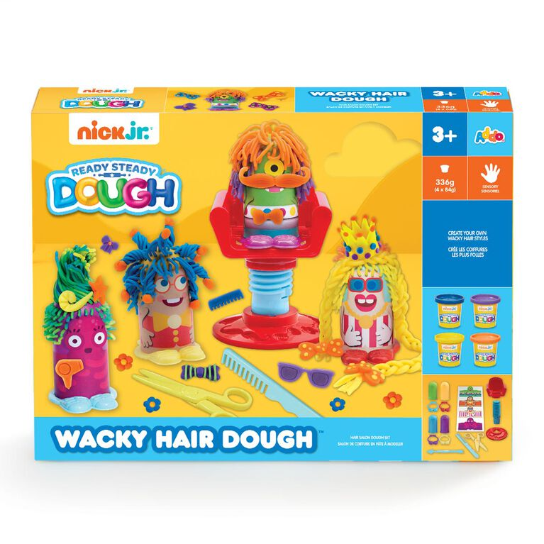 Nick Jr Ready Steady Dough Wacky Hair Dough - R Exclusive