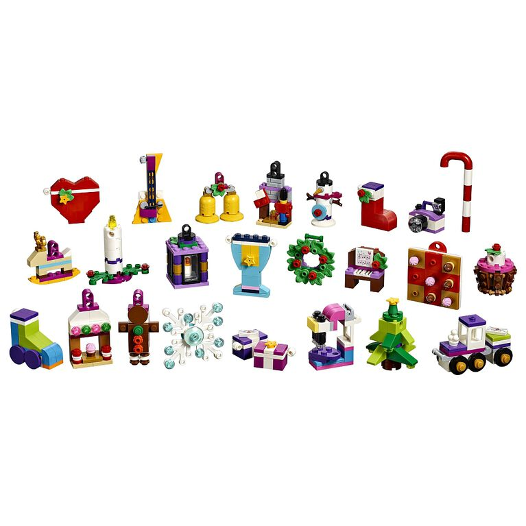 Lego Friends Calendrier De L Avent.Le Calendrier De L Avent Lego Friends 41353