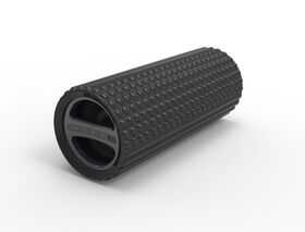 Sharper Image Exercise Foam Roller with Embedded Bluetooth Speaker - Black