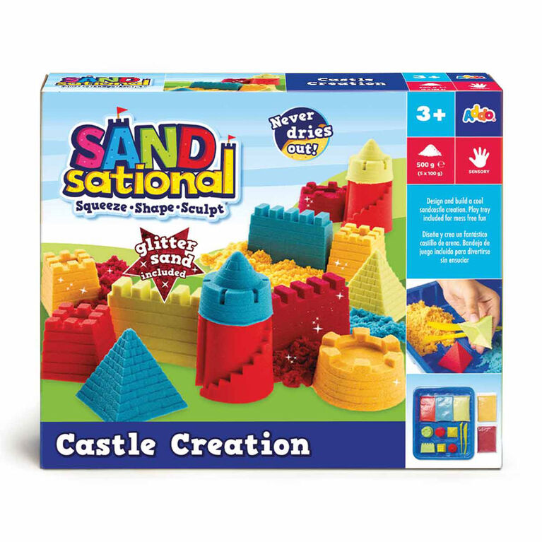 Sandsational Castle Creation Set - Notre exclusivité
