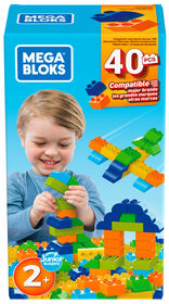 Mega Bloks 40 Piece Construction Box
