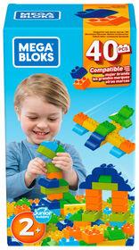 Mega Bloks Boîte de Construction de 40 pièces