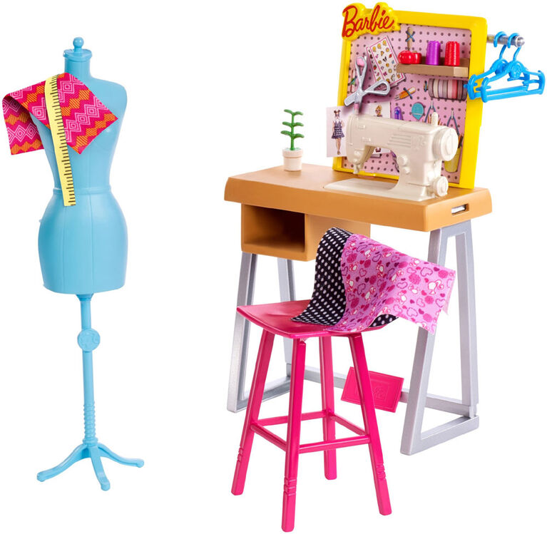 Barbie Career Fashion Design Studio Playset