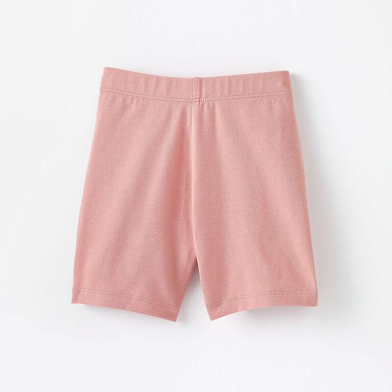 2-3 ans shorts extensibles - rose pâle