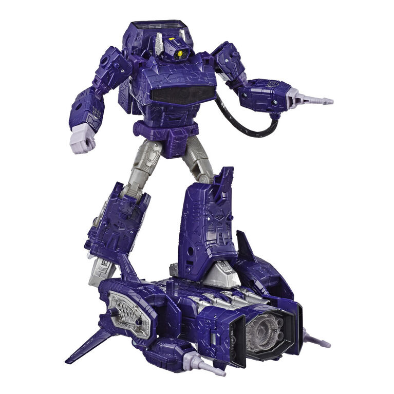 Transformers Generations War for Cybertron: Siege Leader Class Shockwave Action Figure
